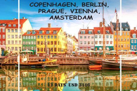 Tour of Northern Europe | olivevoyage